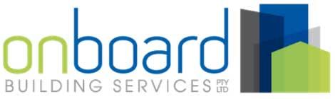 Onbordbuilding Construction Logo
